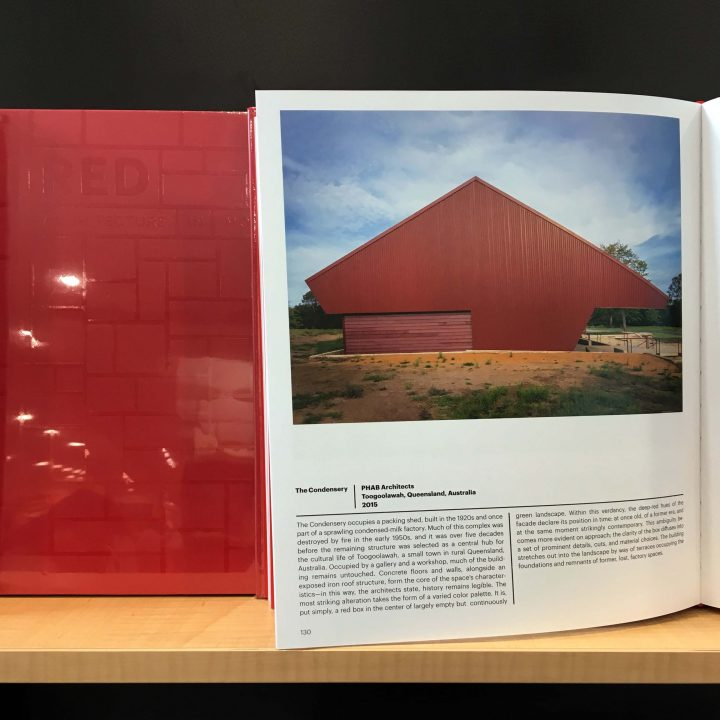 Condensery in 'Red: Architecture in Monochrome'